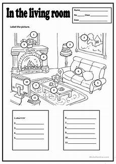 worksheets rooms 19037 in the living room esl worksheets for distance learning and physical classrooms