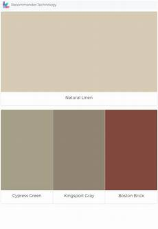 natural linen cypress green kingsport gray boston brick green exterior paints house color