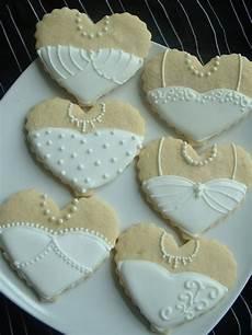 wedding cookies bride and groom heart cookies 1 dozen