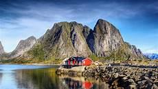 Norwegen Ferien H 228 Uschen K 252 Stenberglandschaft Stockbild