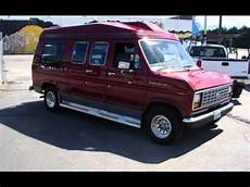 car manuals free online 1989 ford e series auto manual 1989 ford e series van conversion for sale in spokane valley wa youtube