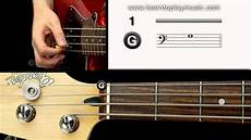 04 Bass Tuning 1st String G Note
