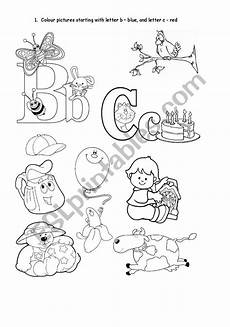 letter b and c worksheets 23965 phonics letter b and c esl worksheet by joannaturecka