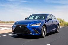 the 2019 lexus es makes its world debut and for once it