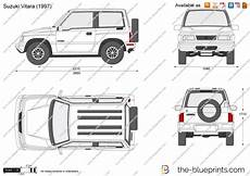 suzuki vitara vector drawing