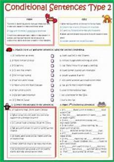 english worksheets conditional sentences type 2