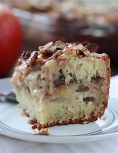 apple sour coffee cake broken