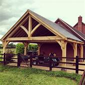 Traditional Bespoke Oak Carports  Bespoak Timber Frames