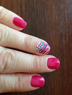 avon gel finish 7 in 1 in parfait pink and avon nail art