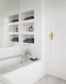 bathroom wall shelving ideas clear the clutter with clever bathroom storage the room edit