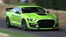 new 2020 ford mustang shelby gt500 loud exhaust sounds