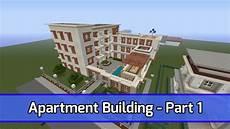 minecraft let s build apartment building xbox 360 tutorial part 1 city texture