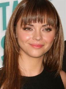 bangs hairstyle for round face women hairstylo