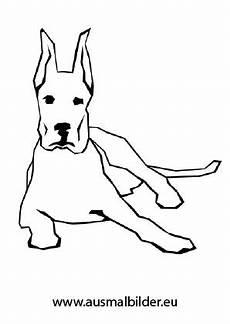 Malvorlage Liegender Hund Ausmalbild Liegender Hund Zum Kostenlosen Ausdrucken Und