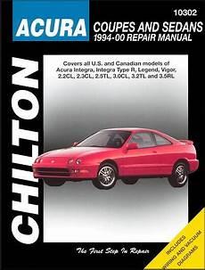 chilton car manuals free download 2000 acura rl parental controls acura integra legend vigor cl tl rl repair manual 1994 2000
