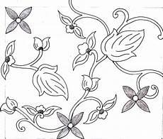 Gambar Motif Batik Cap 1 4 Gambar Canting Sketsa Di