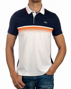 lacoste 169 polo shirt white blue best price