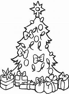 ausmalbilder weihnachten tannenbaum mit geschenken weihnachtsbaum naturstrolche
