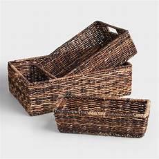 Basket Storage madras storage baskets world market