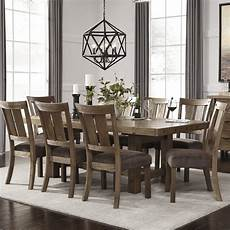 loon peak etolin 9 piece dining set reviews wayfair
