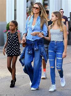 Heidi Klum And Daughters Put On Stylish Display In La