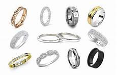 new mens wedding ring material comparison matvuk com