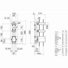 dornbracht grundk 246 rper xtool thermostatmodul mit 2 v