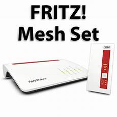 neues avm fritz mesh set bundle aus router und repeater