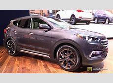 2017 Hyundai Santa Fe Sport 2.0T   Exterior and Interior