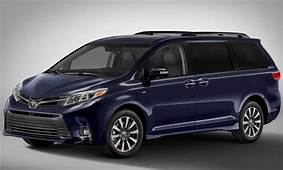 2021 Toyota Sienna Release Date And Price Rumors