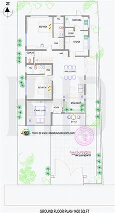 2000 sq ft house plans india floor plan of 2000 sq ft house in 6 5 cent land in 2019