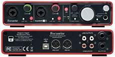 focusrite 2i2 focusrite 2i4 usb computer recording interface 815301008194 ebay