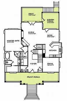 coastal house plans elevated raised beach house delight 15019nc architectural