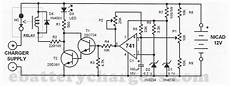untitled automatic battery charger schematic