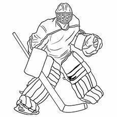 top 25 free printable winter coloring pages online hockey drawing hockey goalie hockey
