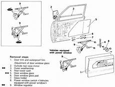 car manuals free online 1989 mitsubishi chariot security system service manual how to remove 1986 mitsubishi chariot door handle service manual how to