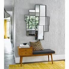 Spiegel Mit Metallrahmen Schwarz 89x123