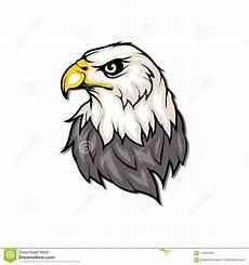 logo dell aquila calva disegno selvaggio degli uccelli