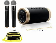 enceinte bluetooth karaoke magasin goyona sonorisation portable micro pour visite guidee de groupe sono