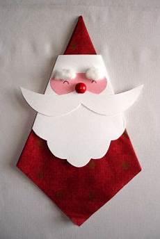 servietten nikolaus basteln weihnachten nikolaus