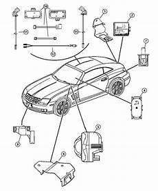 05124443ab Mopar Siren Alarm Factory Chrysler Parts