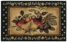 Kitchen Area Rugs With Fruit by Shaw Multi 3x5 Kitchen Apples Pears Grapes Vine Area Rug
