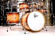 Gretsch Ash 5pc Drum Set Satin Walnut