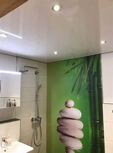 Decke Im Badezimmer - lackspanndecke im badezimmer gestaltungsideen plameco