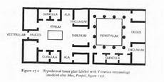 pompeii house plan layout of houses in pompeii house best design