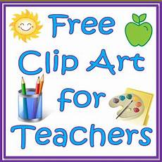 here are free clipart websites for teachers for elt teachers
