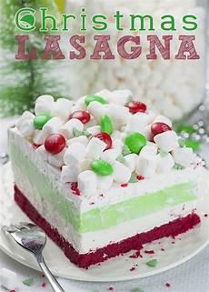 lasagna layered dessert recipe with
