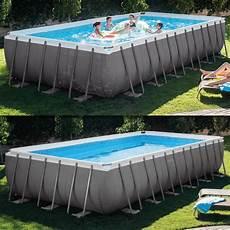garten pool guenstig kaufen intex ersatzpoolfolie f 252 r ultra frame pool 732x366x132cm
