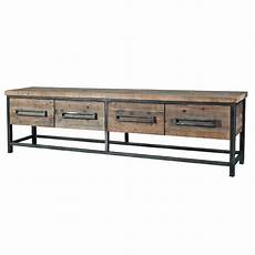 sideboard holz metall sideboard industrial mit vier