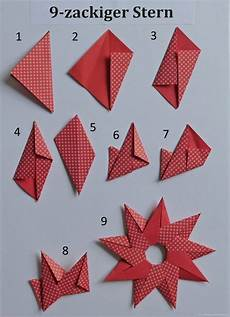 sonne oder 9 zackiger papierzen 174 origami
